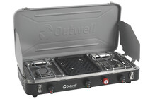 Outwell Chef Cooker Premium 3-Burner Stove &amp; Grill